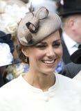 Catherine, duquesa de Cambridge Imágenes de archivo libres de regalías