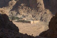 catherine egypt klosterst Royaltyfri Fotografi