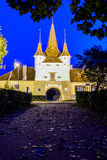 Catherine gate in brasov, romania Royalty Free Stock Images