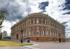 Catherine the Great House in Tsaritsino park Stock Images