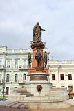 Catherine the Great monument, Odessa Stock Photography