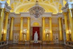 Catherine hall in Palace, Tsaritsino Royalty Free Stock Photo