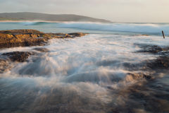 Catherine Hill Bay sjö Macquarie, New South Wales, Australien Arkivbilder