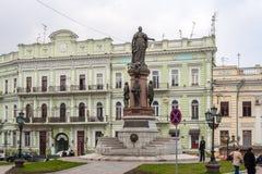 catherine imperatorowa pomnikowy Odessa Odessa, Ukraina zdjęcia royalty free