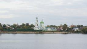 Catherine nunnekloster i Tver royaltyfria foton