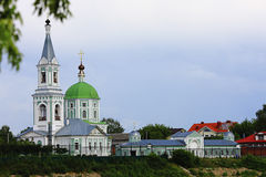 Catherine Orthodox convent. City Tver Russia Stock Images