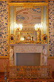 Catherine pałac wewnątrz Fotografia Stock