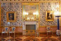 Catherine pałac wewnątrz zdjęcia royalty free