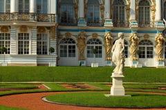 Catherine pałac. Rosja, Tsarskoye Selo Catherine park. Zdjęcie Stock