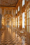 Catherine Palace binnen Royalty-vrije Stock Fotografie