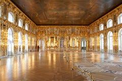 Catherine Palace binnen Stock Fotografie