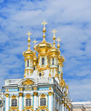 The Catherine Palace Chapel Royalty Free Stock Photography