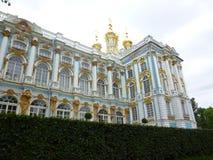 Catherine Palace em Pushkin imagem de stock royalty free