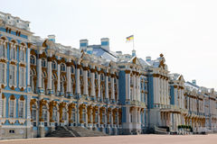 Catherine Palace em Pushkin (região de Leninegrado) em Pushkin, R Fotos de Stock