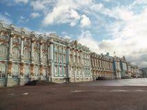 Catherine Palace en Pushkin, Rusia Imágenes de archivo libres de regalías