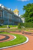 Catherine Palace en St Petersburg, Rusia Foto de archivo libre de regalías