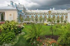 Catherine Palace en Tsarskoye Selo, (Pushkin), Rusia Imagen de archivo