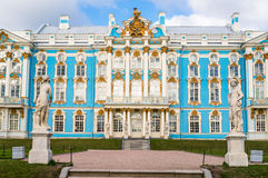 Catherine Palace Exterior im Herbst Stockfoto