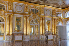 Catherine Palace, Golden Hall Royalty Free Stock Photography