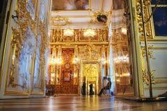 Catherine Palace interior Stock Photo
