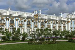Catherine Palace nahe St Petersburg, Russland Stockbilder