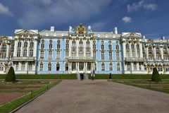 Catherine Palace near Saint Petersburg, Russia Stock Images