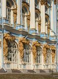 Catherine Palace one day in april. Tsarskoye Selo Royalty Free Stock Photo