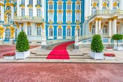 Catherine Palace på Tsarskoe Selo Arkivfoton