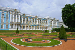 Catherine Palace in Pushkin Stock Image