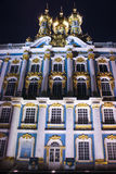 Catherine Palace in Pushkin at Night Time Royalty Free Stock Photography