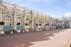 Catherine palace in Pushkin Royalty Free Stock Photo