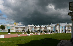 Catherine Palace in Pushkin, Russia. Stock Photography