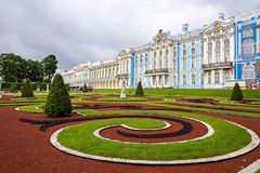 Catherine Palace in Pushkin, Russia Royalty Free Stock Image
