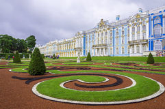 Catherine Palace in Pushkin, Russia Stock Photo