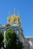 The Catherine Palace in Pushkin, Russia Royalty Free Stock Photography