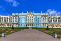 Catherine Palace, Pushkin, Saint Petersburg, Russia. Catherine Palace in summer, Pushkin, Saint Petersburg, Russia stock photography