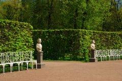 Catherine Palace in Pushkin Stock Photos