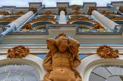 Catherine Palace - Pushkin, St Petersburg, Rusia imagen de archivo