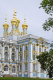 Russia - Catherine Palace. Catherine Palace is a Rococo palace located in the town of Tsarskoye Selo (Pushkin) - St. Peters-burg - Russia - Summer residence of Royalty Free Stock Photo