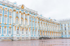 Catherine Palace, a Rococo palace in Tsarskoye Selo, Saint Peter. Sburg, Russia Royalty Free Stock Photography