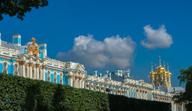 Catherine Palace Roofline Royalty Free Stock Images