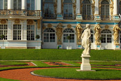 The Catherine Palace. Russia, Tsarskoye Selo, The Catherine Park. Stock Photo
