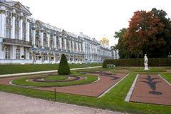 Catherine Palace, San Pietroburgo Immagini Stock Libere da Diritti