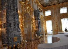 Catherine Palace `Second Antikamera` Royalty Free Stock Image