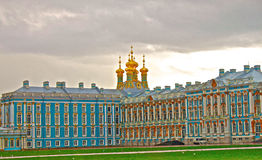 Catherine palace in St. Petersburg. The royal catherine palace in Saint Petersburg , Russia Stock Image