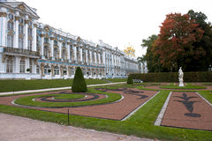 Catherine Palace St Petersburg Royaltyfria Bilder