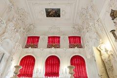 Catherine Palace, St. Petersburg stock image