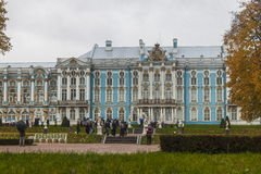 Catherine palace in St. Petersburg Royalty Free Stock Photo