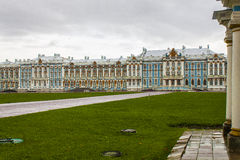 Catherine palace in St. Petersburg. The royal catherine palace in Saint Petersburg , Russia Stock Photo