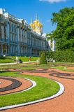 Catherine Palace a St Petersburg, Russia Fotografia Stock Libera da Diritti